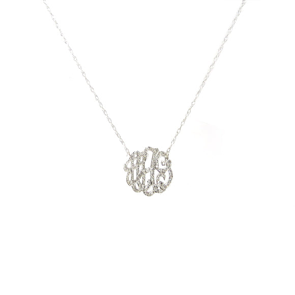 Moon and Lola - Omiya necklace 14K white gold Mini