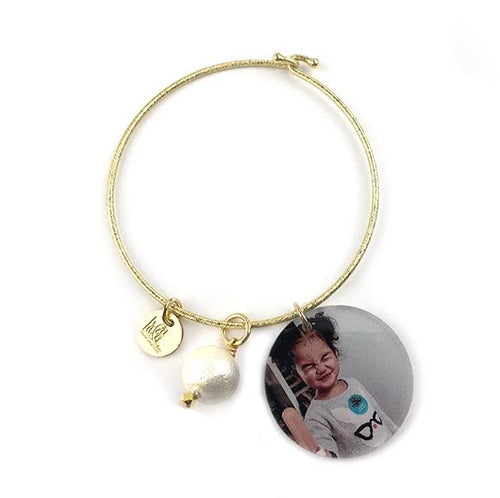 Moon and Lola - Photo Bangle