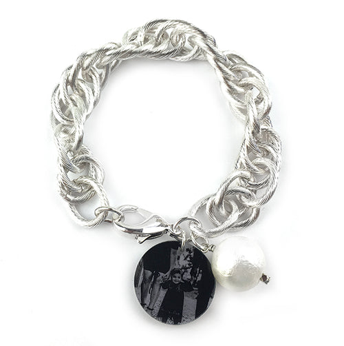 Moon and Lola - Photo Preston Bracelet in silver
