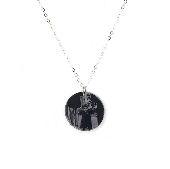 Moon and Lola - Photo Necklace