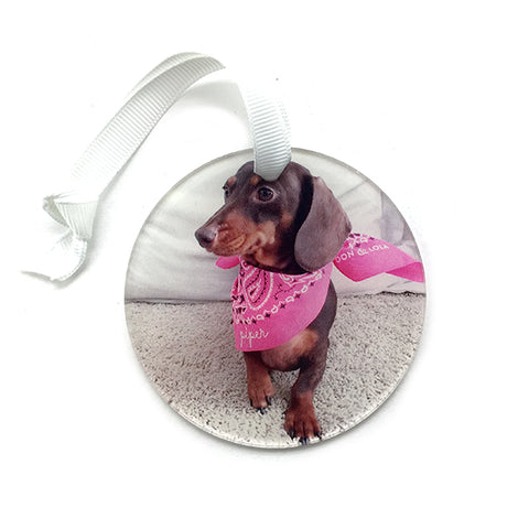 Personalized Angel Chihuahua Ornament