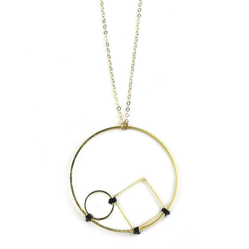 Moon and Lola - Politi Necklace