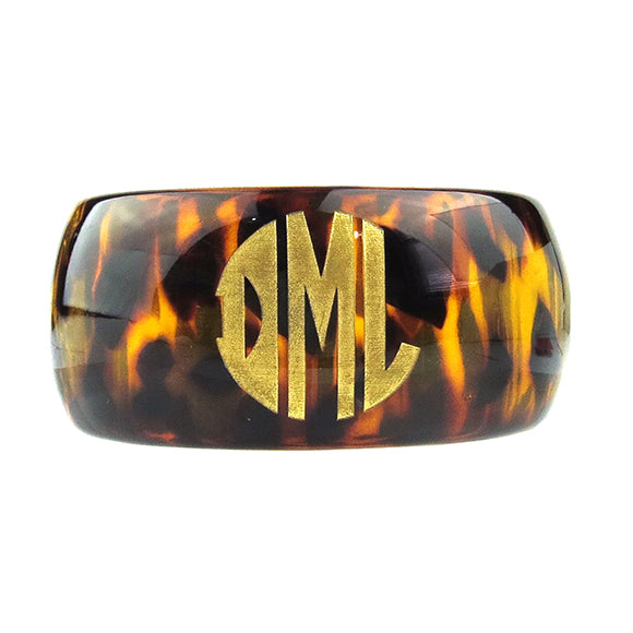 "Sample ""DML"" Parker Monogram Bangle"