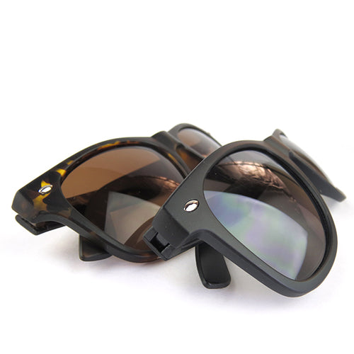 I found this at #moonandlola! - Wayfarer-styled matte finish Sunglasses