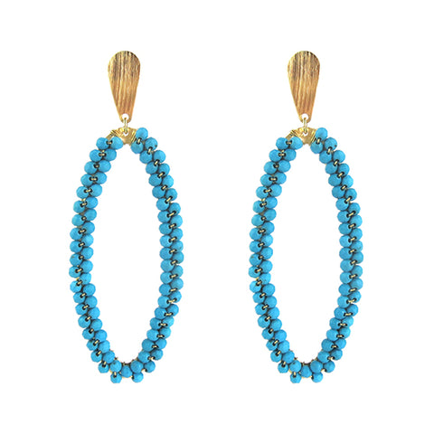 Luna Single Drop Earrings
