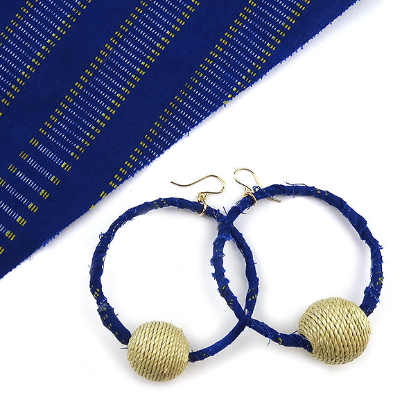 Moon and Lola - Tchamba Earrings in colorway #12