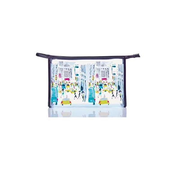 Moon and Lola - Toss Designs NYC Scene Clear Pouch