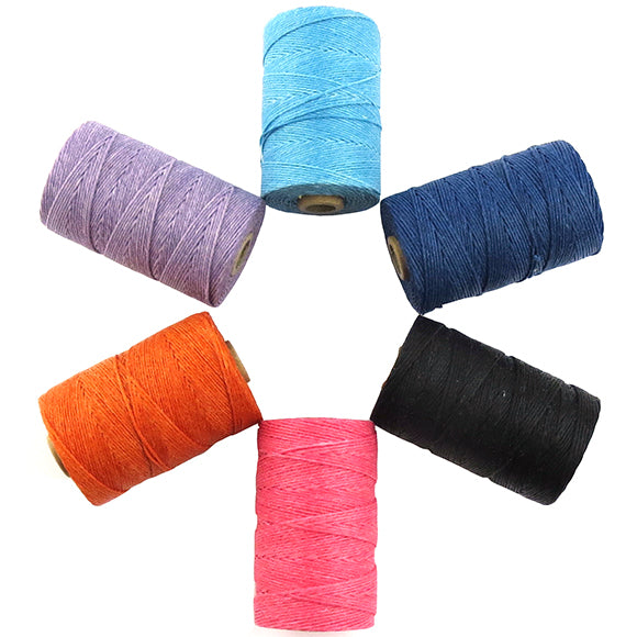 Moon and Lola - linen thread colors for Togo Jewelry