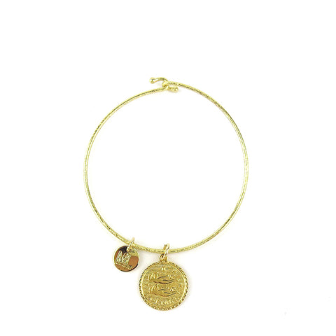 Everly Bangle Crystal