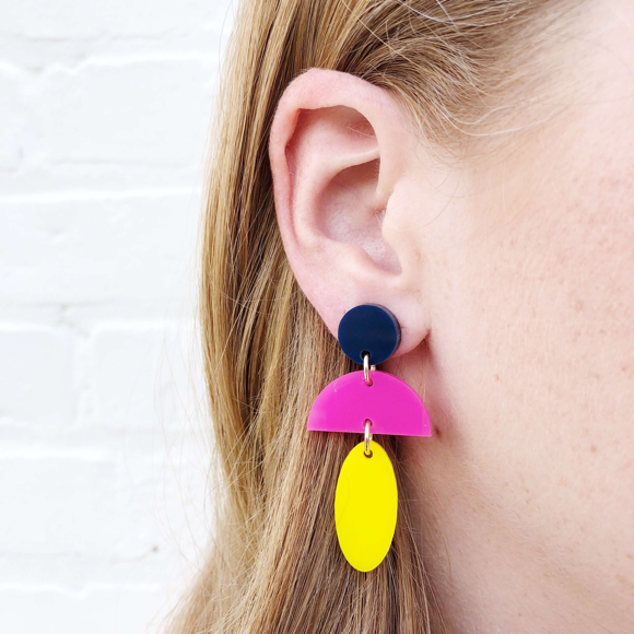 Moon and Lola Custom  Anquilla Earrings