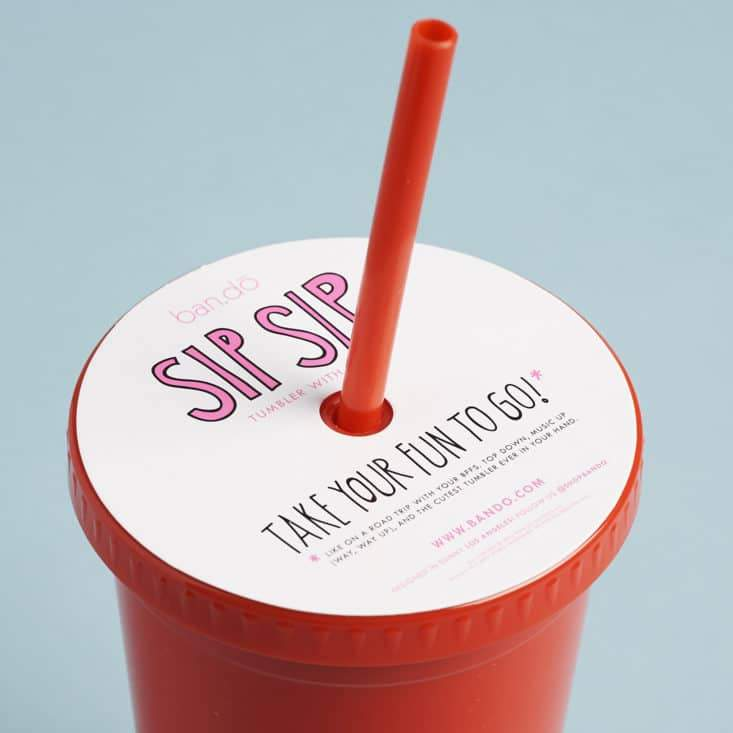 Moon and Lola - Bando Free Refills Tumbler with Bendy Straw