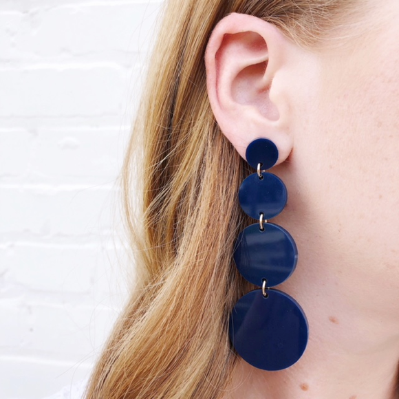 Moon and Lola Barbados Earrings