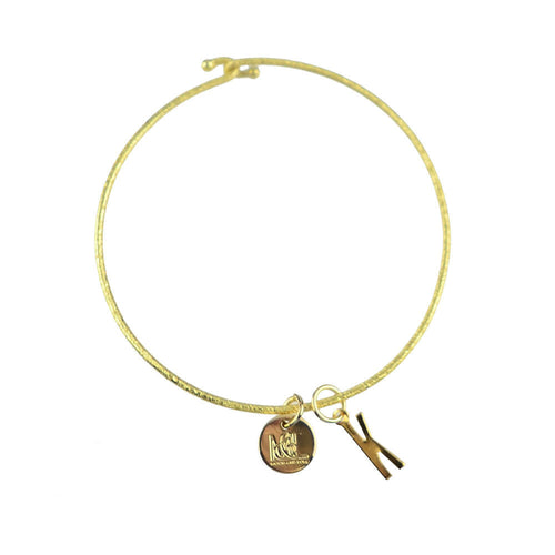 Moon and Lola - Belize Charm on Nora Bangle