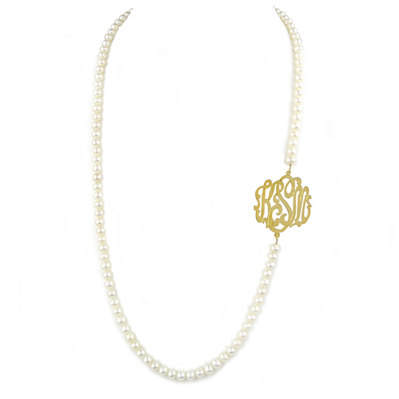 Moon and Lola - Biltmore Monogram Necklace