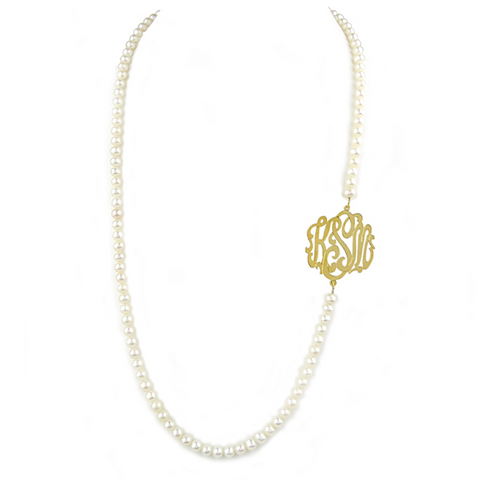 Amador Single Initial Necklace