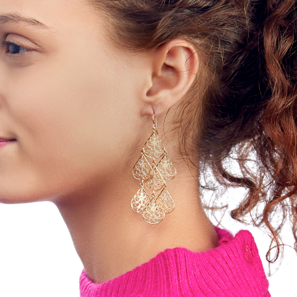 Moon and Lola - Cairo Dangle Earrings