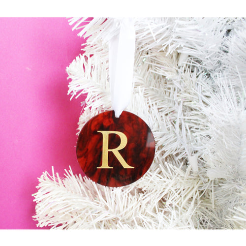 I found this at #moonandlola! - Acrylic Dalton Single Initial Ornament