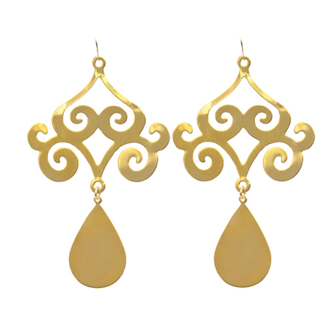 Syros Graduated Drop Earrings