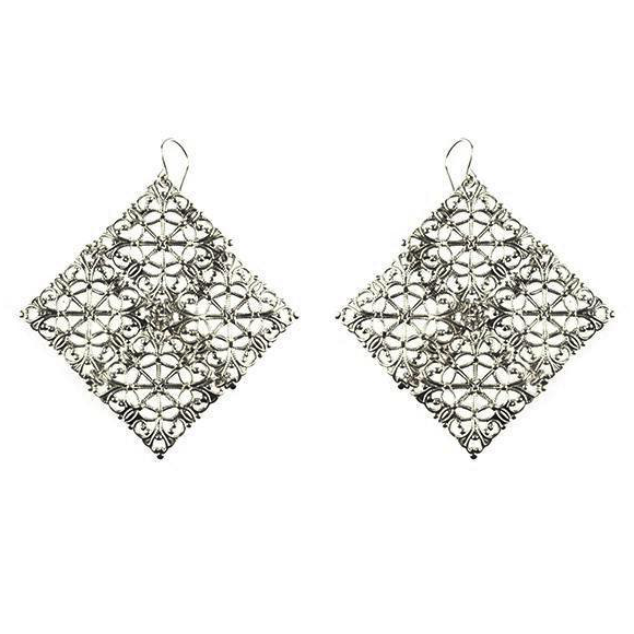 Moon and Lola - Dublin Filigree Earrings
