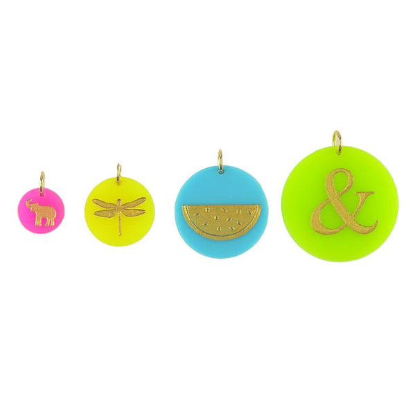 Moon and Lola - Colorful Eden Charms in 4 sizes