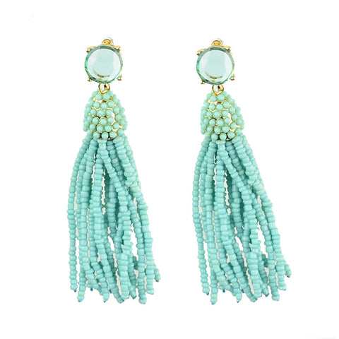 Europa Knotted Raffia Earrings