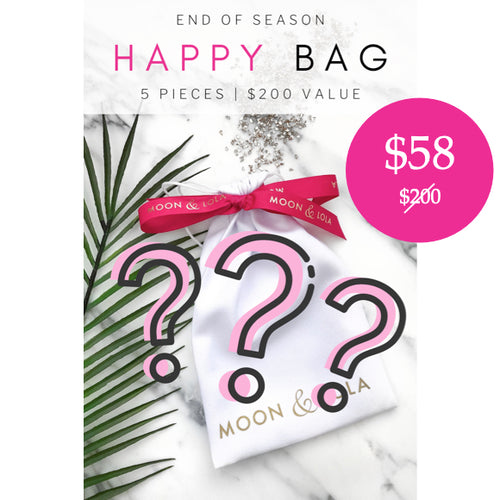 Moon and Lola - Happy Bag of 5 jewelry and accessory pieces valued at $200 for only $58