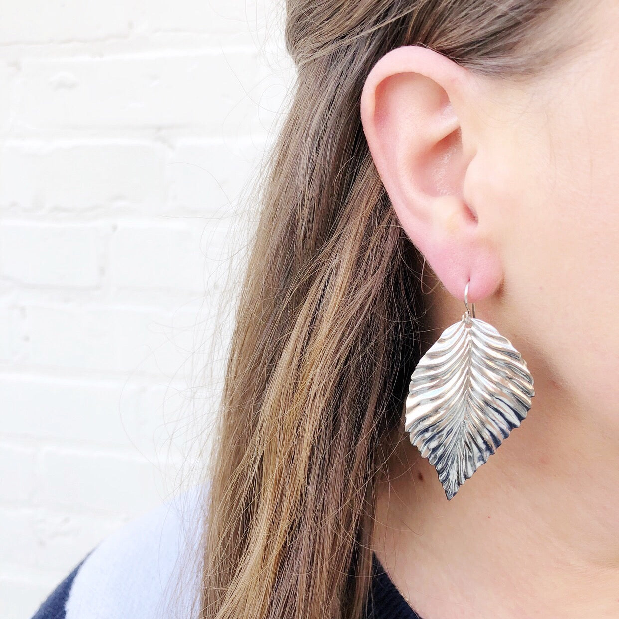 Moon and Lola - Silver Hetta Earrings
