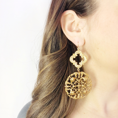 I found this at #moonandlola - La Rochelle Earrings