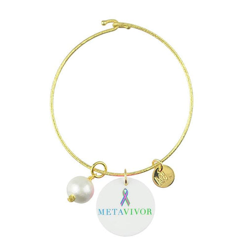 Moon and Lola - METAvivor Charm Bracelet