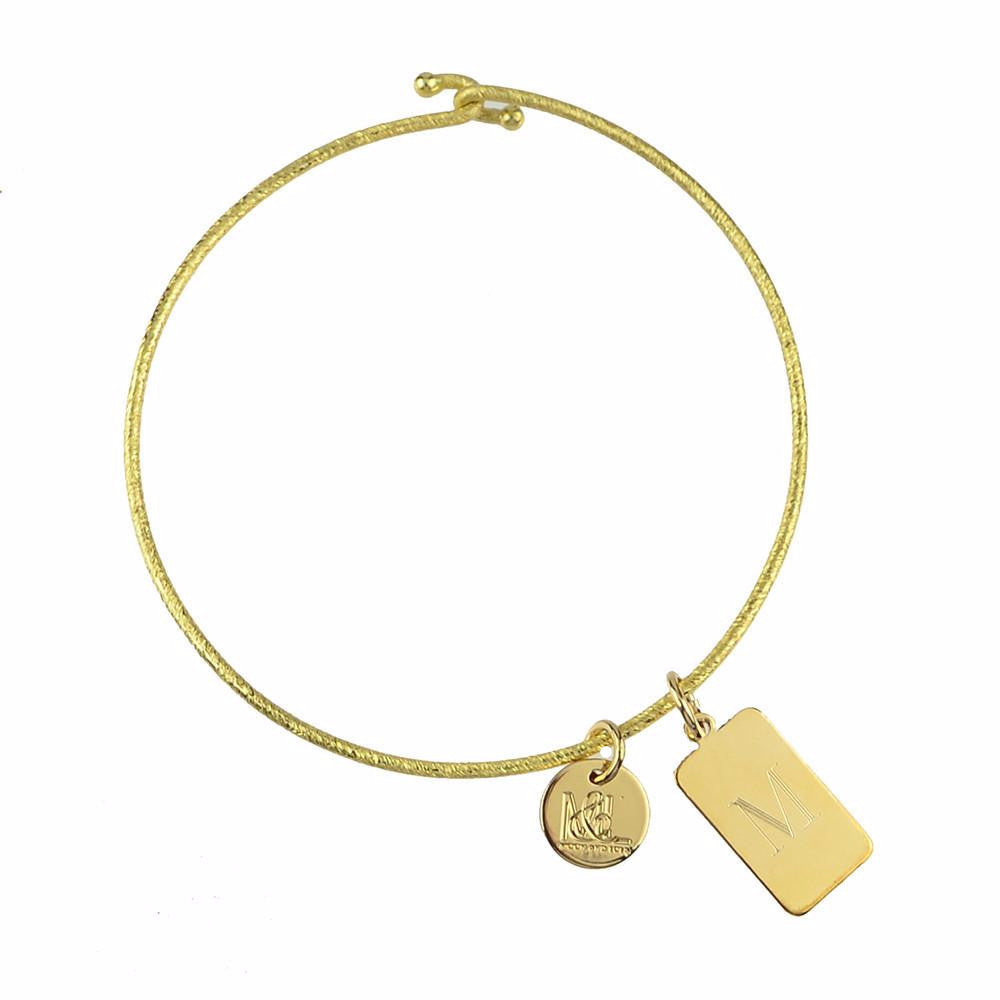 Moon and Lola - Mason Charm on Nora Bangle