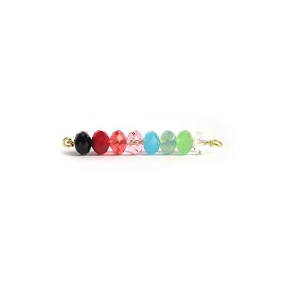 I found this at #moonandlola! - Miller Earring Top Bead Color Options
