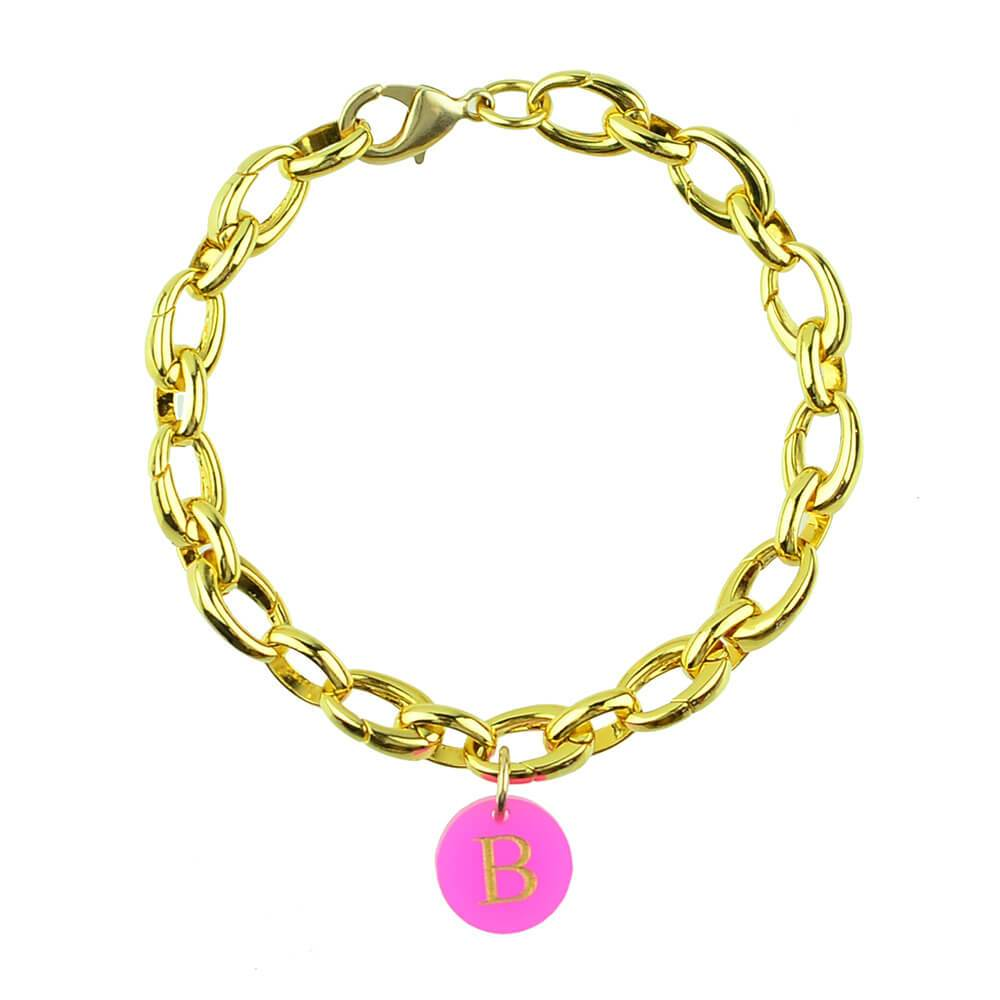 Moon and Lola - Newport Bracelet with Add-A-Charm Links!