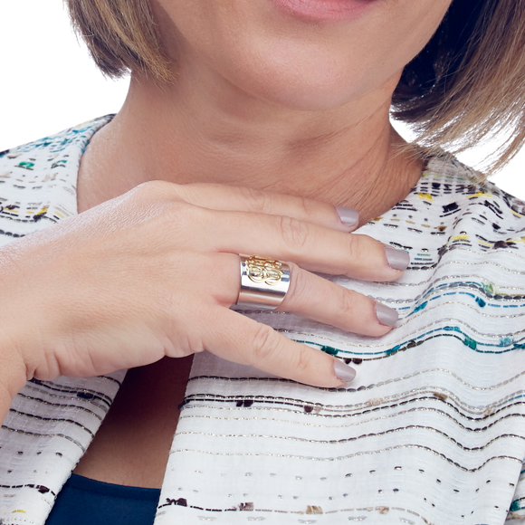 Moon and Lola - Palais Cigar Band Ring