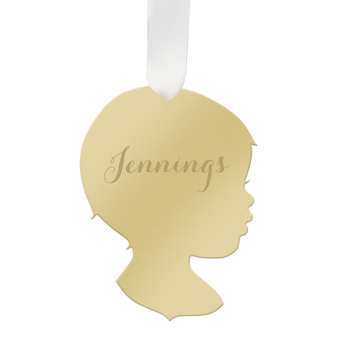 Personalized Angel Weimaraner Ornament