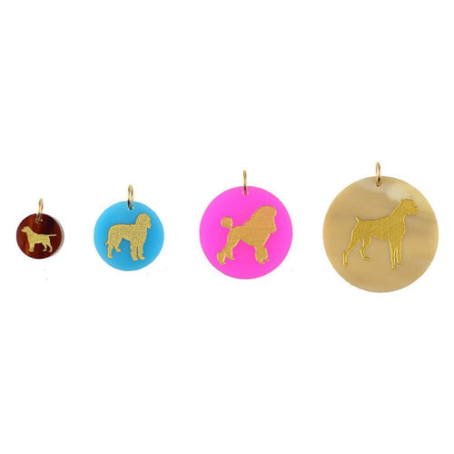Moon and Lola - Pet Charms in four sizes