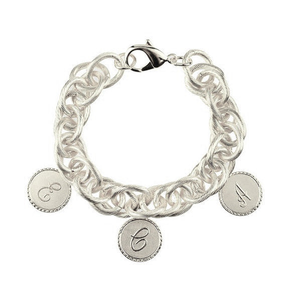 Moon and Lola - Preston Family 3 Charm Bracelet