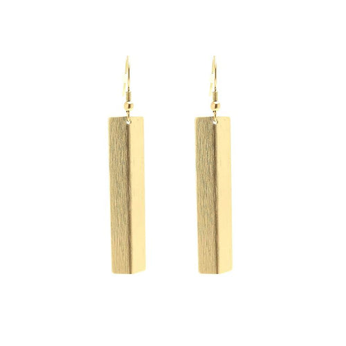 Moon and Lola - Sinclair Gold Dangle Earrings