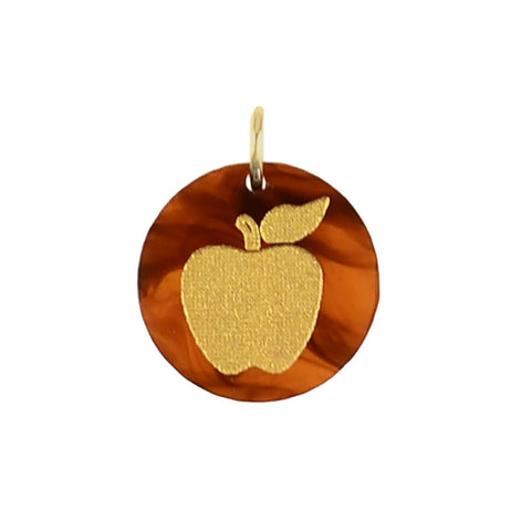 Moon and Lola - Apple Charm (perfect for a teacher!)