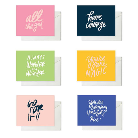 "ML xx TP ""Live Laugh Hustle Sleep"" Note Card"