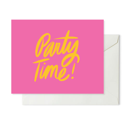 Moon and Lola xx Thimblepress - Party Time Note Card w/envelope