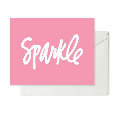 Moon and Lola xx Thimblepress - Sparkle Note Card w/envelope