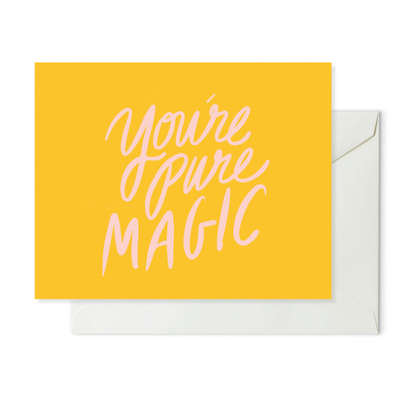 Moon and Lola xx Thimblepress - You're Pure Magic Note Card w/envelope
