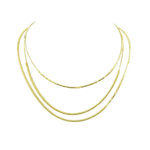 Brighton Brass Bar Necklace