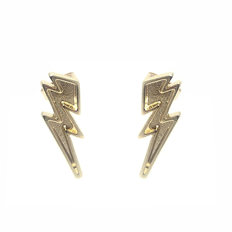Moon and Lola Veneza Studs lightning bolt post earrings