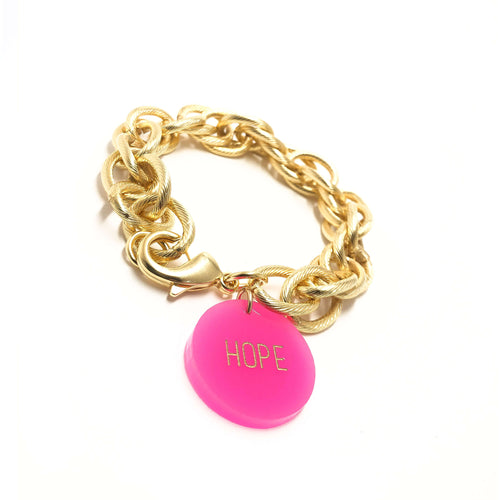 Moon and Lola - Your Word Preston Bracelet Gold
