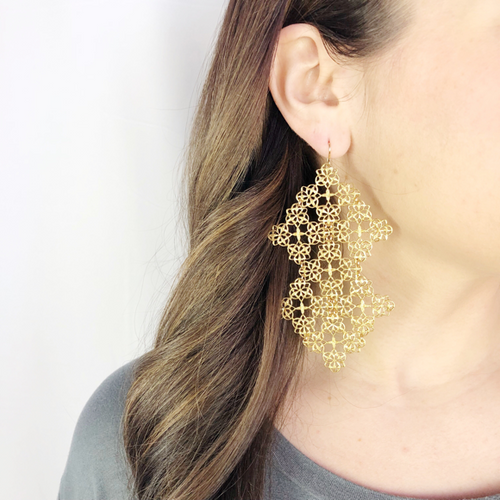 I found this at #moonandlola - Amani Earrings
