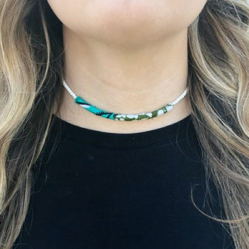 Moon and Lola - Azaza Slide on Rhea Choker