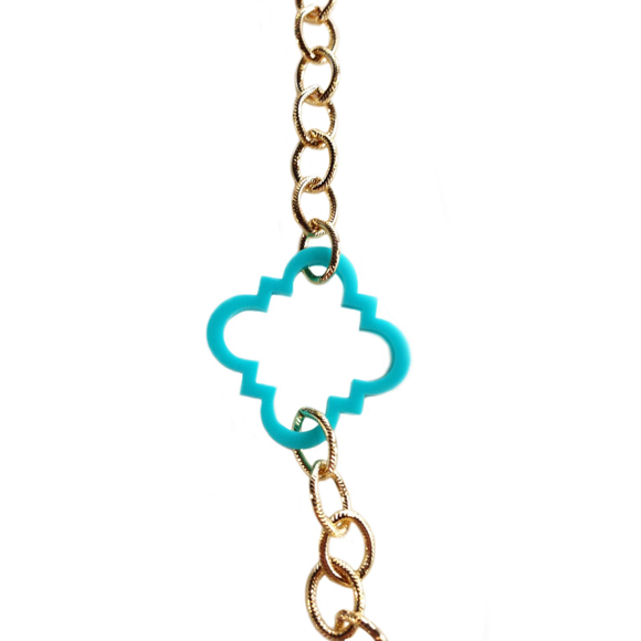 I found this at #moonandlola! - Acrylic Campbell Necklace