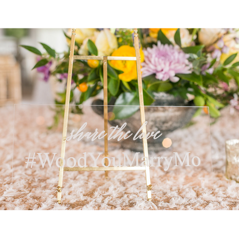 Sample Number Cake Topper - Symbol