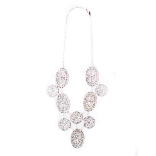 I found this at #moonandlola - Cyprus Necklace Silver